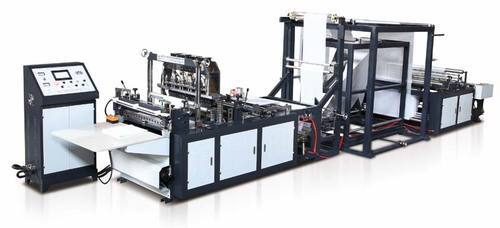 Carry Bag Making Machine - SDT-700 Carry Bag Making Machine