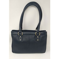 Women Black Leather Hand Bags