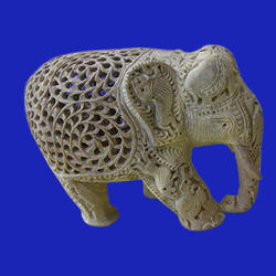 Soapstone  Decorative Elephant  Statue