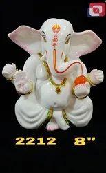 Artificial Gold Polyresin Lord Ganesha