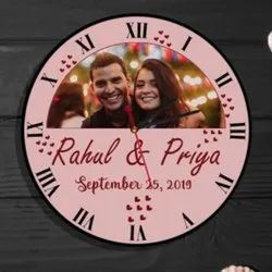 MyPhotoPrint Personalised Photo Wall Clock Corporate Gifts/Promotional Gifts
