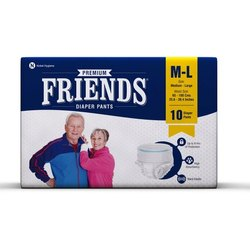 Friends Adult Pull Ups M-L