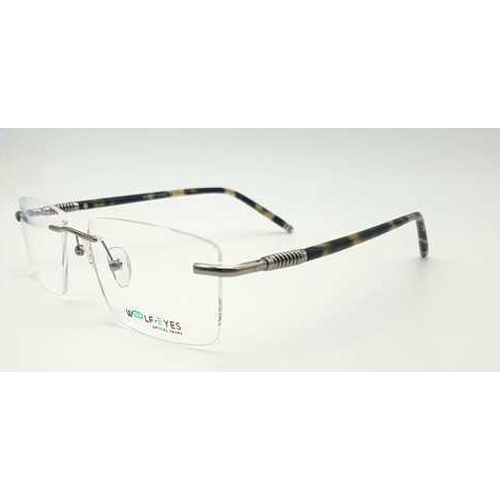 Wolf Eyes Rimless Frame, Size: 53-17-140, Rs 750 /piece, Palak ...