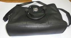 Flap Cover Leather Portfolio Bags