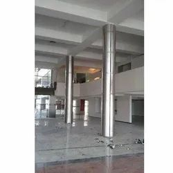 Stainless Steel Pillar Cladding