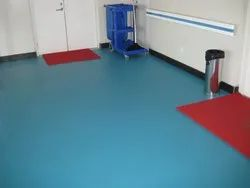 OT Room Flooring Services, Thickness: 5-10 Mm