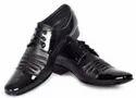 Lace Up Black Men Formal Shoes