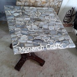 Grey Agate Table Tops