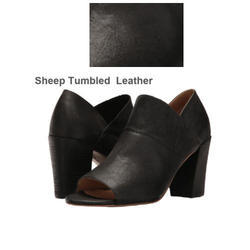 Plain Black Sheep Tumbled Leather