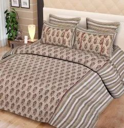 Double Bed Sheet Cotton Printed