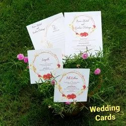 Eco-Friendly Plantable Seed Paper Wedding Invitation