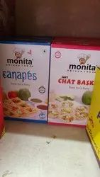 Monita Canapes, Packaging Size: 500 Gms, Packaging Type: Box Packing