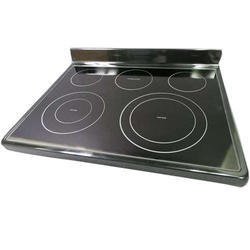 Black Electric Induction Cooktop, Size: Large