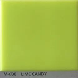 Lime Candy Acrylic Solid Surface