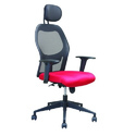 Inspace Red And Black Executive Revolving Chair
