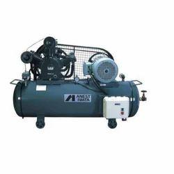 Anest Iwata Reciprocating Air Compressor, 0.5 HP - 200 HP