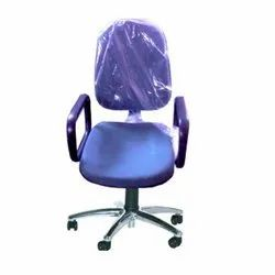 ESD Chair With Arms Chrome Star Base