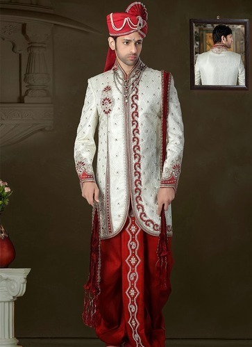 Mens Rajasthani Sherwani At Rs 2100 Piece