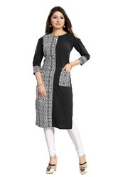 Womens Knee Length Kurtis