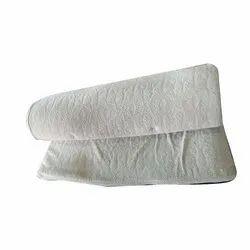 White Plain Cotton Bath Towel, Weight: 250-350 GSM