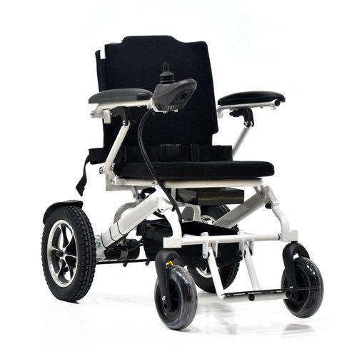Foldable Power Wheelchair With Lithium Battery, Model Name/Number: EM23-41,  Rs 99000 /piece   ID: 21276006362