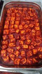 Spicy Bbq Paneer Tikka, Packaging Type: Packet