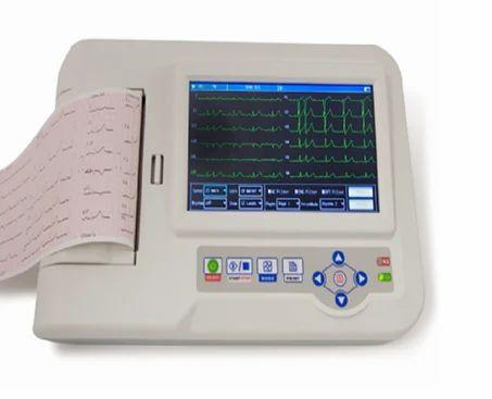 12チャンネルECGマシン、臨床、病院、Rs 45000 /ピースメロディーメディシステム|  ID:17108102262