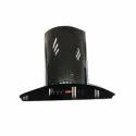 NICER 60 Black Touch Digital Chimney