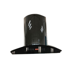 NICER 60 Black Touch Digital Chimney