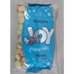 Joy Vanilla Crispy Bites, Egg Drops, Wine Biscuits