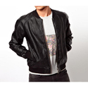 Mens Leather Fancy Jacket, Size: M-l