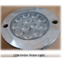 12W LED Underwater Light