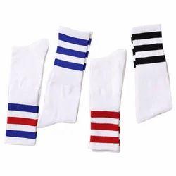 Cotton Stripped Kids School Socks, Packaging Type: Packet