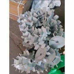 White Plastic Pump PVC Fan