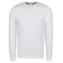 Men's Full Sleeve Casual T-Shirt, Size: S to XL