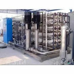 Natchurel SS Powder coating Industrial Reverse Osmosis Plant, RO Capacity: 30000-50000, Model Name/Number: 280720