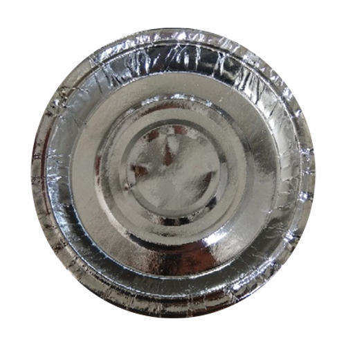 7 Inch Silver Paper Plates, Packaging Type: Packet
