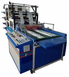 Automatic Bio Degradable Plastic Bag Making Machine, Capacity: 100-120 (Pieces Per Hour)