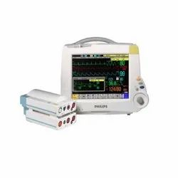 10-300mmHg 15-380 bpm Philips IntelliVue MP30 Multiparameter Monitor, for Hospitals