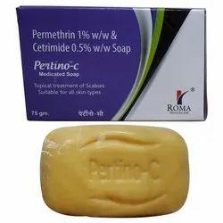 Permetherine 1%, Cetramide 0.50%,Menthol 1%