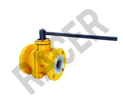 Flanged End Fep Lined Ball Valves
