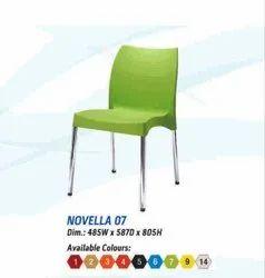 Novella 07 Designer Chair, 485x587x805 Inch