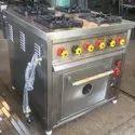 4 Burner Range With Oven Gas Model
