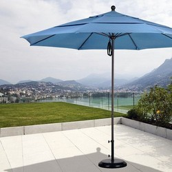 Blue Patio Umbrella, Height: 9 feet