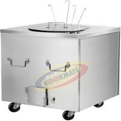 Stainless Steel Square Tandoor