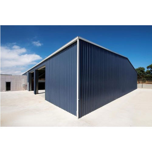 Steel Stainless Steel Factory Shed Rs 320 Square Feet Qfab