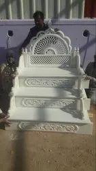 Rectangle Modern White Marble Masjid Member