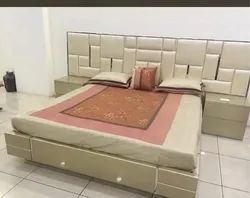 jbf Maple Wood Double Beds, Model Name/Number: 001, Size: 6'*6'
