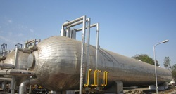 Liquefied CO2 Storage Tank