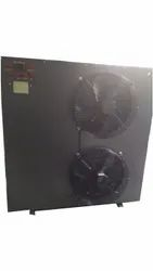 Three Phase Automatic MS Water Cooled Chiller, Water-Cooled, Capacity: 1-2 ton